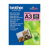BROTHER BP60MA3 INKJET PAPER A3 (297420 MM) MATTE WHITE PRINTING