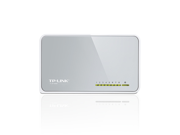 TP-LINK TL-SF1008D UNMANAGED FAST ETHERNET (10/100) WHITE