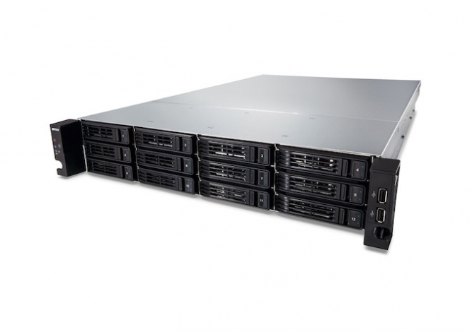 BUFFALO TS-2RZH96T12D-EU TERASTATION TS7120R ENTERPRISE NAS RACK (2U) ETHERNET LAN BLACK, SILVER