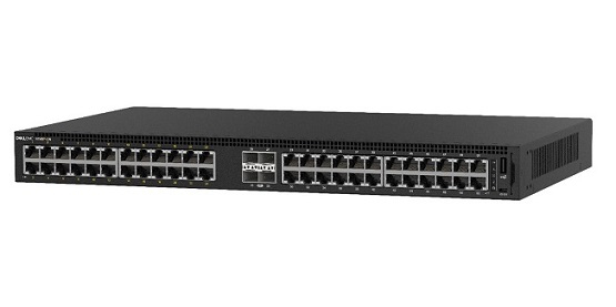 DELL 1148P-ON MANAGED L2 GIGABIT ETHERNET POWER OVER (POE) 1U BLACK