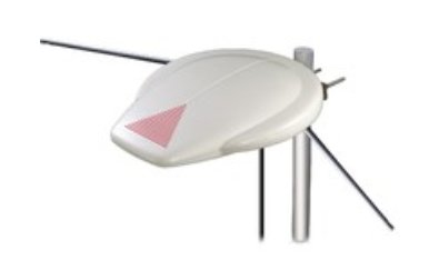 MAXIMUM 2502 UFO ANTENNA OUTDOOR ACTIVE VHF - UHF, BUILT-IN AMPLIFIER