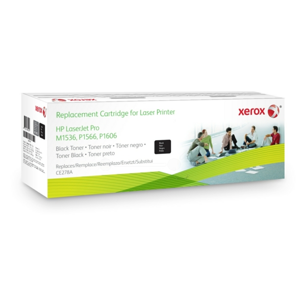 XEROX 106R02157 COMPATIBLE TONER BLACK, 2.1K PAGES @ 5% COVERAGE (REPLACES HP 78A)