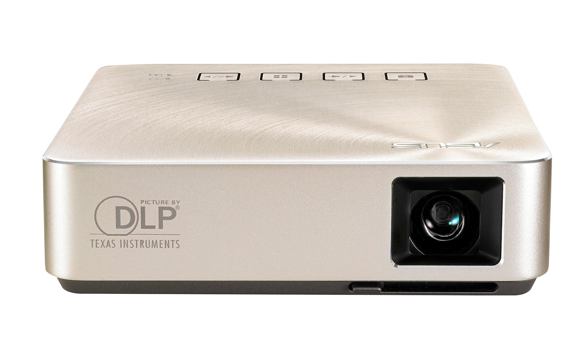 ASUS S1 PORTABLE PROJECTOR 200ANSI LUMENS DLP WVGA (854X480) GOLD DATA