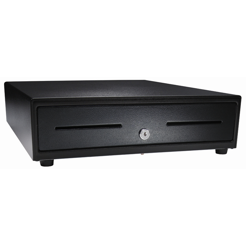 APG CASH DRAWER VB320-BL1313-B26 VASARIO 1313 METAL BLACK CASH/TICKET BOX