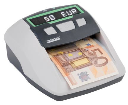 RATIOTEC 64480 SOLDI SMART PRO BLACK,GREY COUNTERFEIT BILL DETECTOR