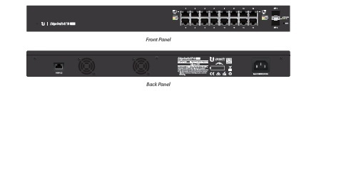 UBIQUITI NETWORKS ES-16-150W MANAGED NETWORK SWITCH