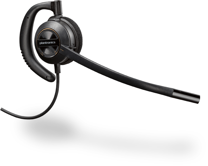 PLANTRONICS 201500-02 ENCOREPRO 530 MONAURAL EAR-HOOK BLACK HEADSET