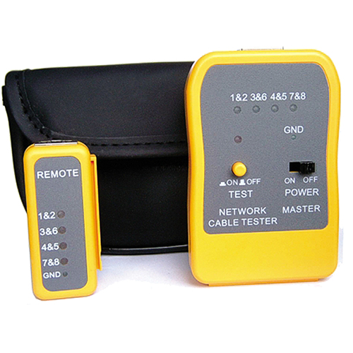 CABLENET 87 3555 NETWORK CABLE TESTER GREY,YELLOW