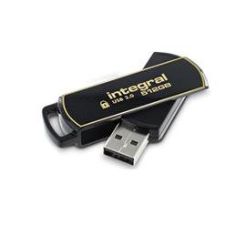 Integral INFD512GB360SEC3.0 USB flash drive 512 GB USB Type-A 3.2 Gen 1 (3.1 Gen 1) Black,Gold