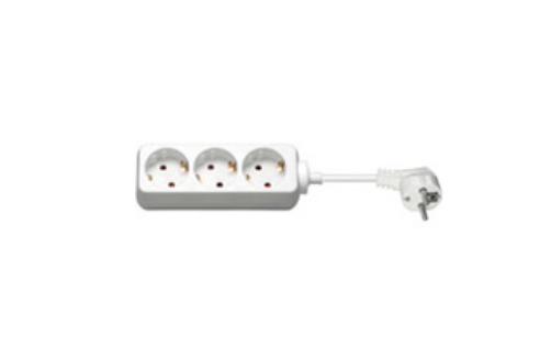 Microconnect 51293 power extension 1.5 m 3 AC outlet(s) Indoor White