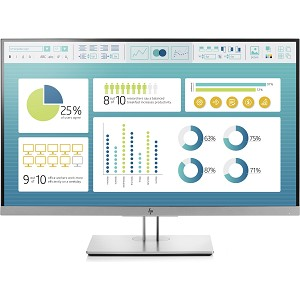 "HP ELITEDISPLAY E273 LED DISPLAY 68.6 CM (27"") 1920 X 1080 PIXELS FULL HD FLAT BLACK,SILVER"