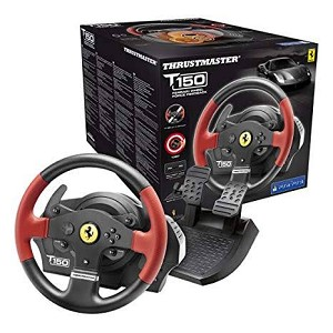 Thrustmaster T150 Ferrari Wheel Force Feedback  (PC/PS4/PS3)