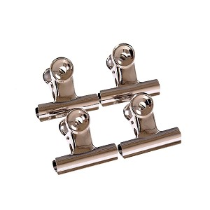 WHITECROFT ESSENTIALS 36261 VALUE SPRING CLIP NICKEL PLATED 22MM PK10