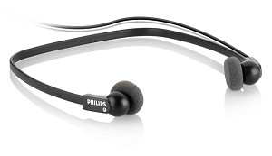 PHILIPS LFH0234/10 LFH0234 BLACK INTRAAURAL NECK-BAND HEADPHONE