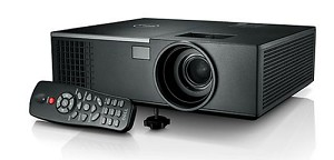 DELL 1550 DESKTOP PROJECTOR 3800ANSI LUMENS DLP XGA (1024X768) 3D BLACK DATA