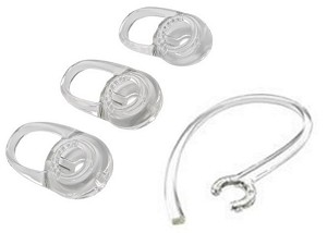 PLANTRONICS 201955-01 REPLACEMENT EARTIPS, 3X, SMALL, VOYAGER EDGE