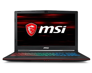 "MSI GAMING GP63 8RE-065UK LEOPARD 2.2GHZ I7-8750H 15.6"" 1920 X 1080PIXELS BLACK NOTEBOOK"