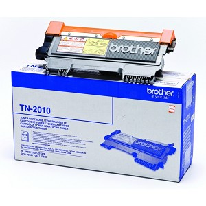 BROTHER TN-2010 TONER BLACK, 1000 PAGES