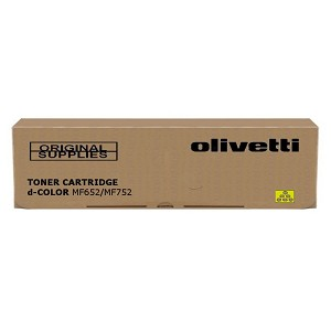 OLIVETTI B1016 FOR D-COLOR MF752 - MF652, YELLOW, 31500 PAGES