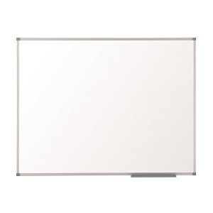 NOBO 1902644 CLASSIC STEEL MAGNETIC WHITEBOARD 1500X1000MM WITH ALUMINIUM TRIM
