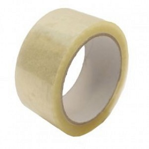 STIKKY 002-0153 LOW NOISE PACKING TAPE 48MM X 66M CLEAR PK6