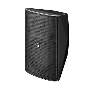 TOA F-1300B WIDE-DISPERSION SPEAKER SYSTEM 50W BLACK