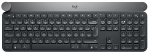 LOGITECH CRAFT RF WIRELESS + BLUETOOTH QWERTZ GERMAN BLACK, GREY