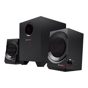 CREATIVE LABS SOUNDBLASTERX KRATOS S3 2.1 SPEAKER SYSTEM