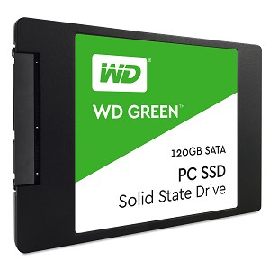 "WESTERN DIGITAL GREEN PC SSD 120GB 2.5"" SERIAL ATA III"