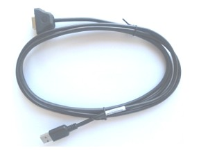 ZEBRA CBL-58926-04 USB A DB9 BLACK CABLE INTERFACE/GENDER ADAPTER