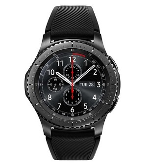 "SAMSUNG GEAR S3 1.3"" SAMOLED GPS (SATELLITE) GREY SMARTWATCH"