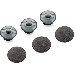 PLANTRONICS 81292-02 EARTIPS, 3 PACK, VOYAGER PRO, MEDIUM, GREY