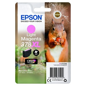 EPSON C13T37964020 (378XL) INK CARTRIDGE BRIGHT MAGENTA, 10ML