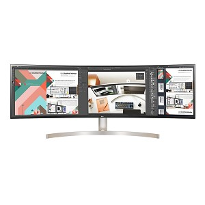 "LG 49WL95C-W LED display 124.5 cm (49"") UltraWide Dual Quad HD Curved White"