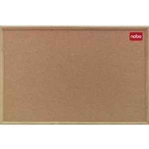 NOBO 37639005 CLASSIC CORK NOTICEBOARD WOOD FRAME 1800X1200MM