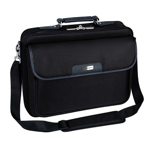 "TARGUS NOTEPAC 16"" MESSENGER CASE BLACK"