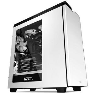 NZXT CA-H442W-W1 H440 MIDI-TOWER WHITE COMPUTER CASE