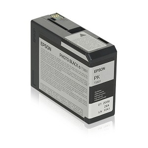 EPSON C13T580100 (T5801) INK CARTRIDGE BLACK, 80ML
