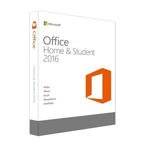 MICROSOFT 79G-04597 OFFICE HOME & STUDENT 2016, EN 1USER(S) ENGLISH