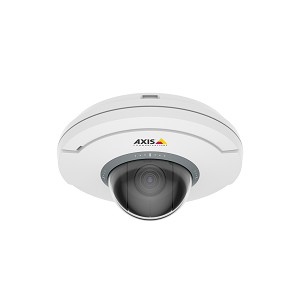 AXIS 01081-001 M5055 IP SECURITY CAMERA INDOOR DOME WHITE 1920 X 1080PIXELS