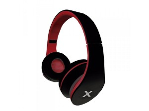 APPROX APPDJJAZZBKR DJ JAZZ BLACK, RED SUPRAAURAL HEAD-BAND HEADPHONE