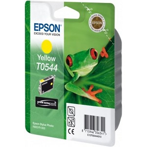 EPSON C13T05444010 (T0544) INK CARTRIDGE YELLOW, 400 PAGES, 13ML