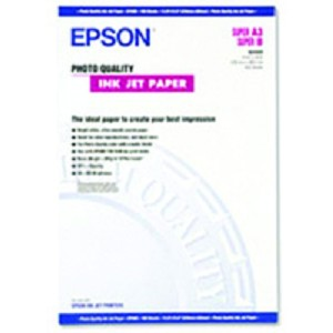 EPSON PHOTO QUALITY INK JET PAPER, DIN A2, 102G/M, 30 SHEETS