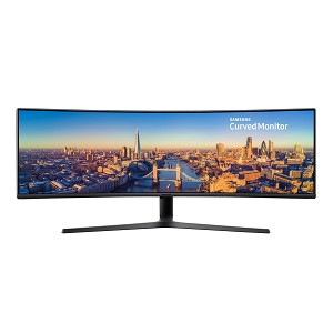"SAMSUNG C49J890DKU 49"" LED CURVED BLACK COMPUTER MONITOR"