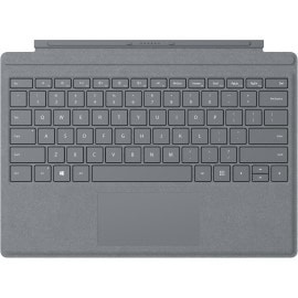 Microsoft Signature Type Cover mobile device keyboard QWERTY Platinum Microsoft Cover port