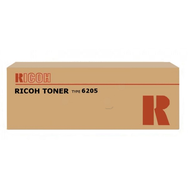 RICOH 885195 (TYPE 6205) TONER BLACK, 50K PAGES, 1,160GR